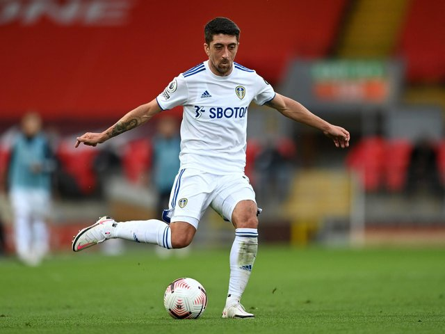 MAGIC MAN - Pablo Hernandez' name conjures memories of magic moments for Leeds United: Pic: Getty