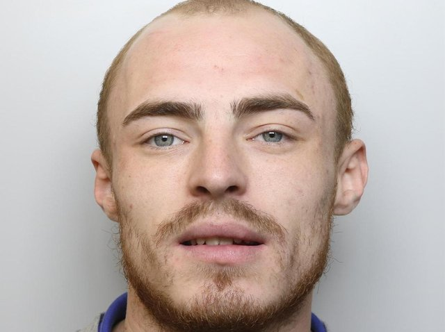 Jack Hill was jailed for 18 months for assaulting his former partner.