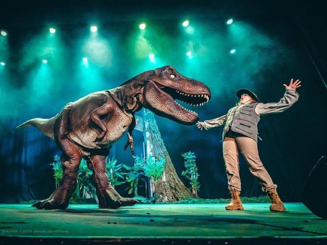Jurassic Earth will visit Scarborough Spa this year