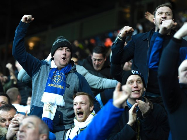 BACK HOME - A number of Leeds United season ticket holders will return to Elland Road for the final home game of the Premier League season. Pic: Getty