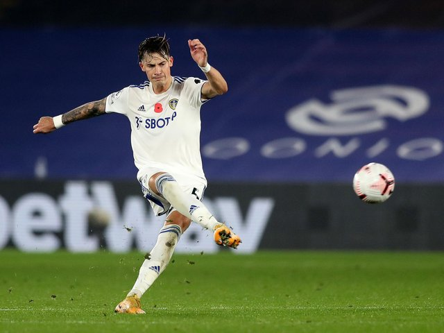 UPBEAT: Leeds United's German international centre-back Robin Koch. Photo by Naomi Baker/Getty Images.