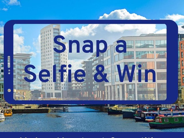 Snap a selfie and be in with the chance of winning £30 high street voucher.
