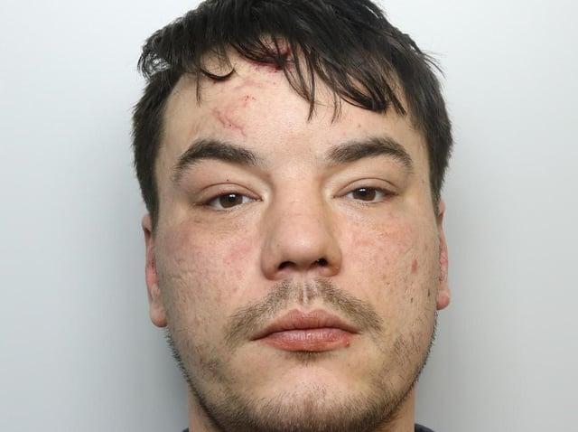 Arsonist Glen Liversidge was jailed for 18 months.