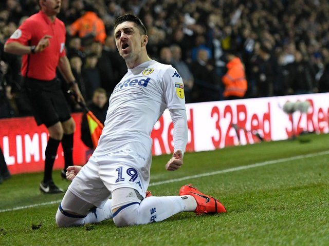 Enjoy these photo memories from Leeds United's 4-0 win against West Bromwich Albion in March 2019. PIC: Getty