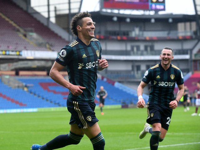 SUPER SUB - Rodrigo came off the bench to score two good goals for Leeds United at Burnley. Pic: Simon Hulme