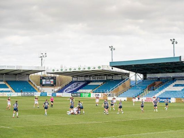 Fans will be back in the stands at Post Office Road on Monday. Picture by Allan McKenzie/SWpix.com.