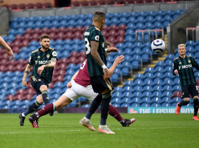 TURNING POINT - Mateusz Klich scored the opener for Leeds United before they went up a gear in the second half. Pic: Simon Hulme