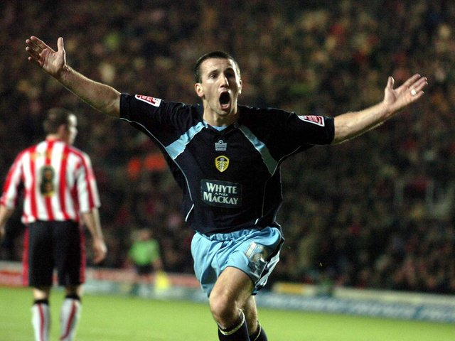 SENSATIONAL COMEBACK: Completed by Liam Miller, above, in Leeds United's epic 4-3 success at Southampton. Picture by Tony Johnson.