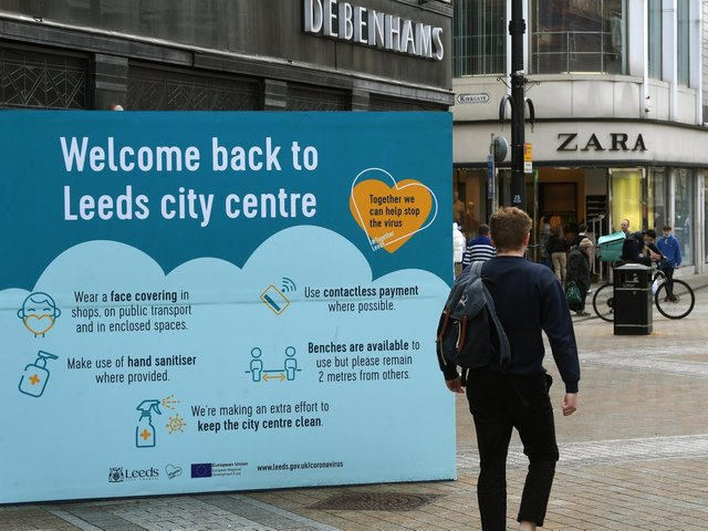 Restrictions in Leeds will ease today under phase three of the Government's road map out of lockdown
