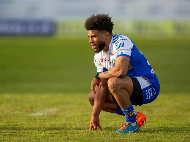 Kyle Eastmond has retired after just two games for Rhinos . Picture by Bruce Rollinson.