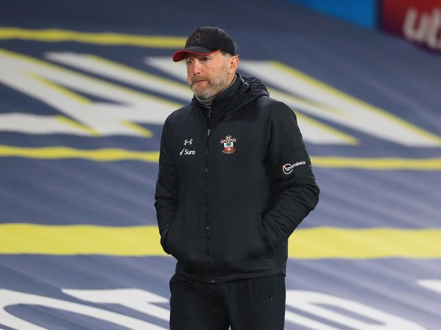 REVENGE MISSION: For Southampton boss Ralph Hasenhuttl, pictured after February's 3-0 defeat to Leeds United at Elland Road. Photo by Mike Egerton - Pool/Getty Images.