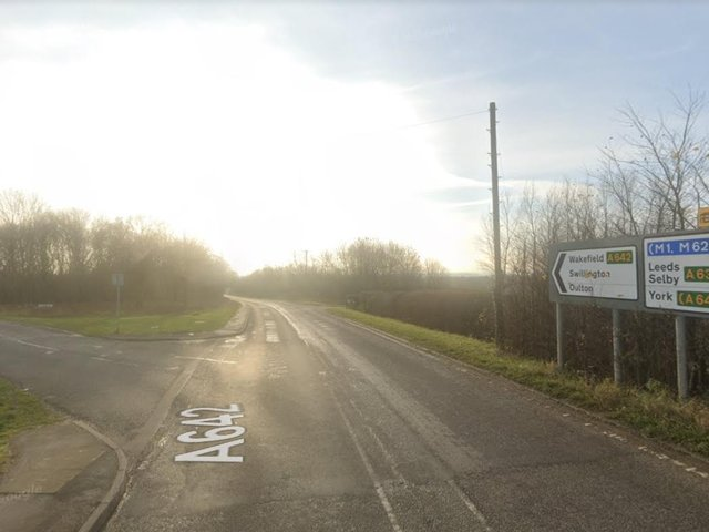 The junction of Whitehouse Lane and Wakefield Road (photo: Google).