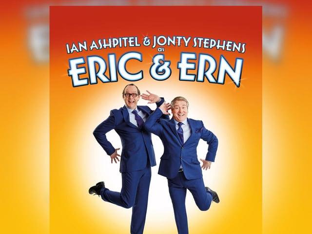 Ian Ashpitel and Jonty Stephens in Eric and Ern