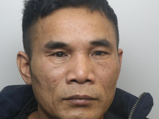 Pahan Hien was jailed for two years over cannabis farm at Bayswater Mount, in Harehills.