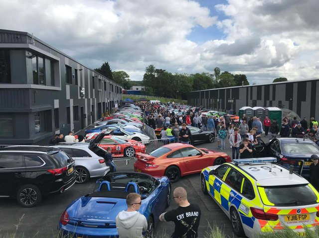Pictured is a previous Leeds Supercar Meet.