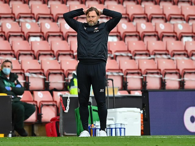 FINE MARGINS - Southampton boss Ralph Hasenhüttl said Leeds United found another gear that his side didn't in the 2-0 Saints defeat. Pic: Getty