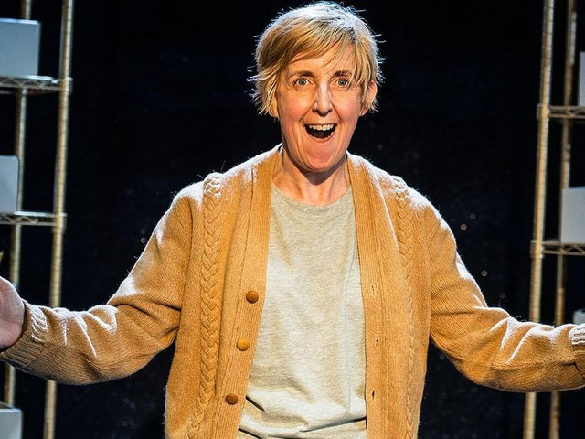 Julie Hesmondhalgh in the Greatest Play in the History of the World