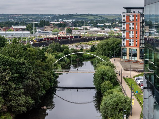 Leeds's South Bank is home to major redevelopment work,