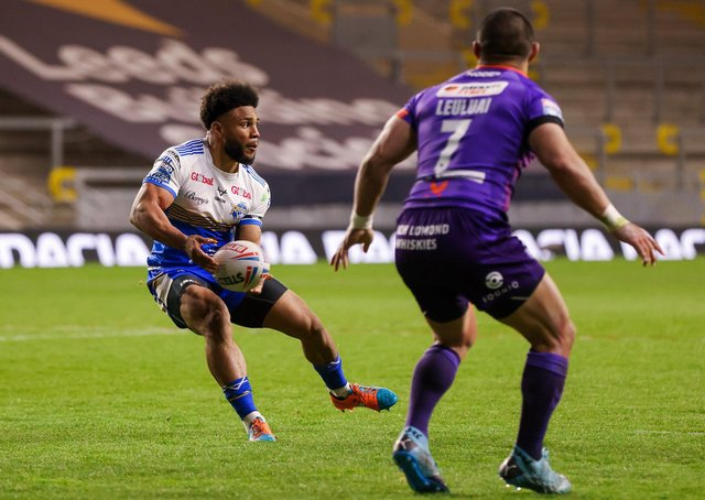 Shock exit: Leeds Rhinos dual code international Kyle Eastmond has retired with immediate effect. Picture by Alex Whitehead/SWpix.com