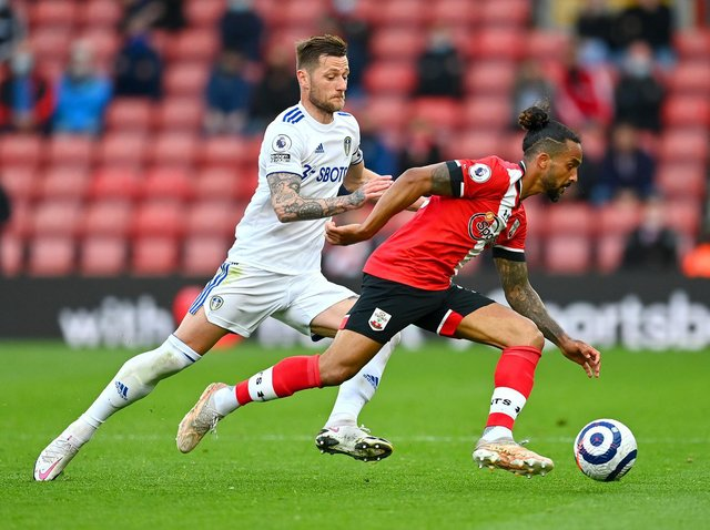 Leeds United beat Southampton 2-0 at St Mary's. Pic: Getty