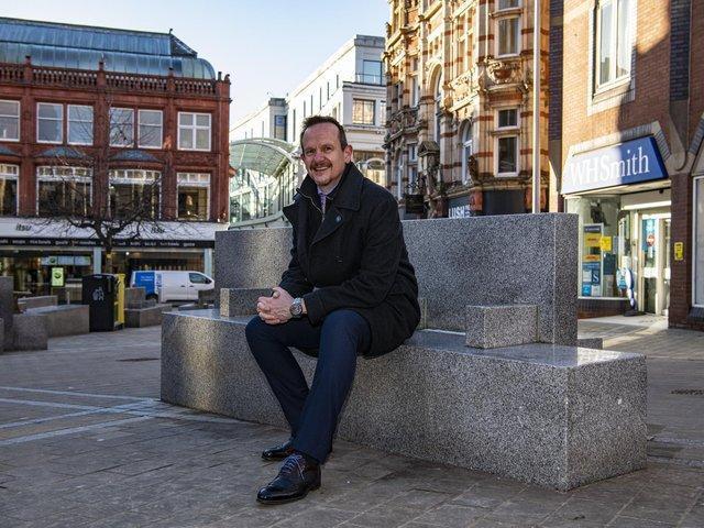 Andrew Cooper, Chief Executive Leeds Business Improvement District