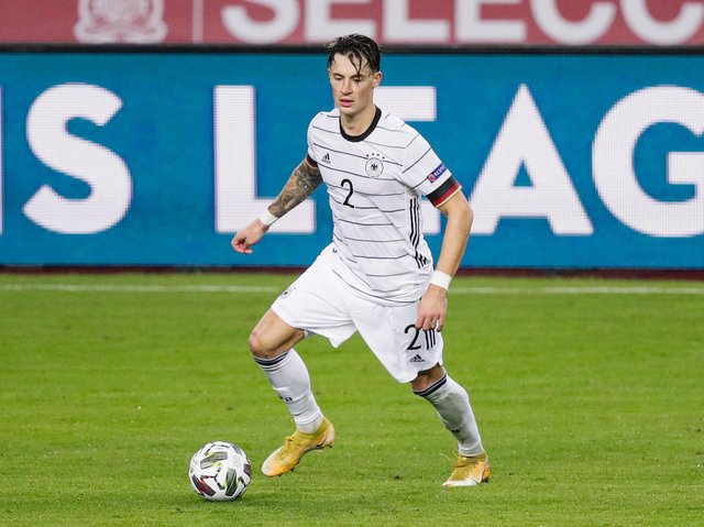 Leeds United defender Robin Koch in action for Germany. Pic: Getty