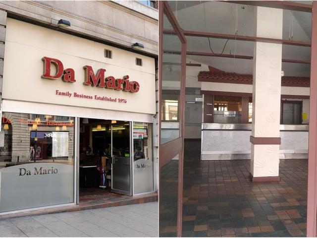 Da Mario's has not reopened despite lockdown easing.