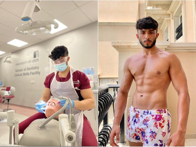Zack Chugg juggles his dentistry labs and PT sessions (photo: Zack Chugg)