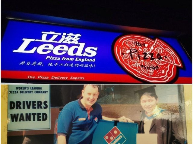 Li Zhu, who worked at Domino's in Leeds, set up Leeds Pizza in his native China.