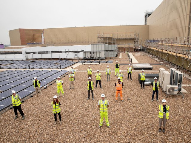 Library image of the  The Glassworks site team