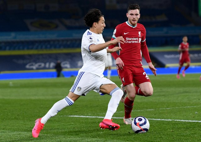 Some fans feel youngster Ian Poveda, above in recent action against Liverpool, is waiting for his 'breakout moment'. Picture: Simon Hulme/JPIMedia.