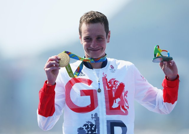 Alistair Brownlee won his second Olympic title in Rio (Picture Alex Livesey/Getty Images)