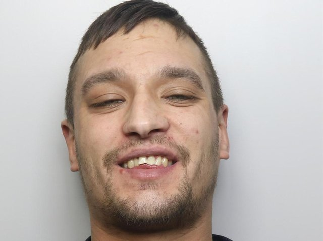 Drug dealer Christopher Colley was jailed for three years and ten months.