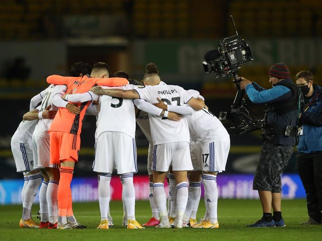 Leeds United's clash with West Brom will be shown live on BT Sport this weekend. Pic: Getty