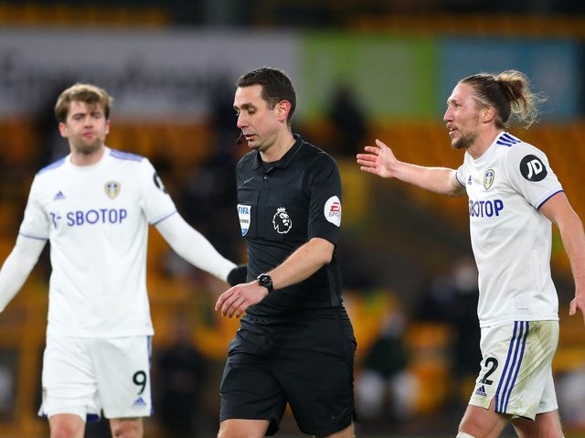 Referee David Coote will take charge of Leeds United's clash with West Brom. Pic: Getty