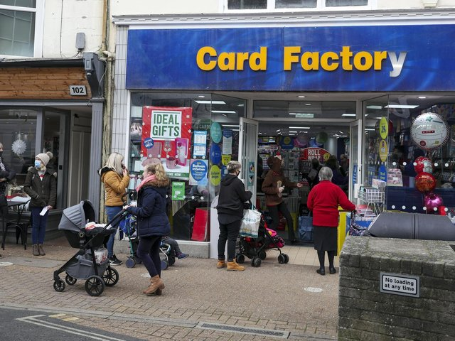 Card Factory has published a trading update