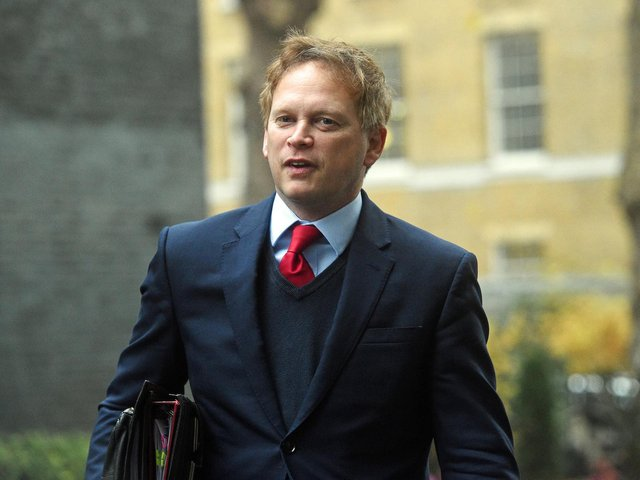 Library image of Secretary of State for Transport Grant Shapps. Control of trains and track will be brought under a new public sector body named Great British Railways (GBR) as part of sweeping reforms, the Department for Transport has announced.
