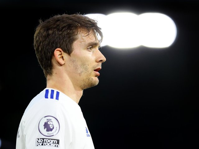 NOT RISKED - Diego Llorente will not play in Leeds United's final game of the season against West Brom at Elland Road. Pic: Getty