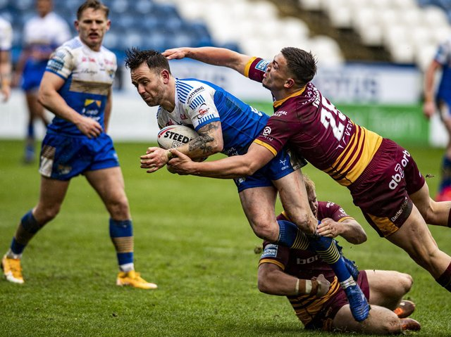 Richie Myler will return from a two-game ban tomorrow. Picture by Tony Johnson.