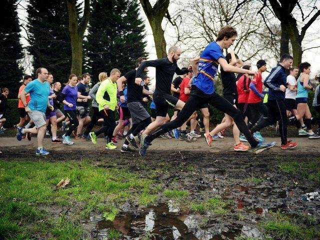 Pictured: 500th Woodhouse Moor Parkrun in March 2017 taken by Jonathan Gawthorpe