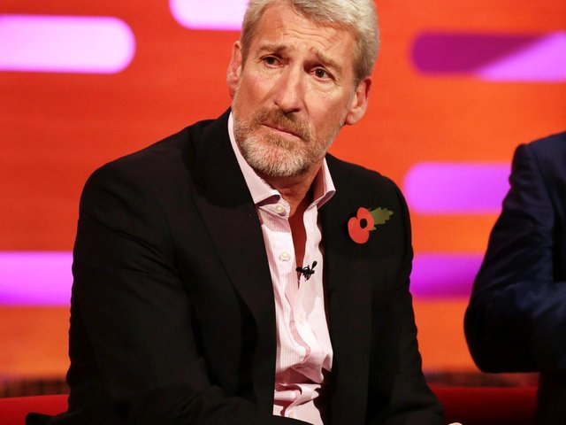 File photo dated 31/10/21 of Jeremy Paxman during filming of The Graham Norton Show at The London Studios in south London (photo: PA)