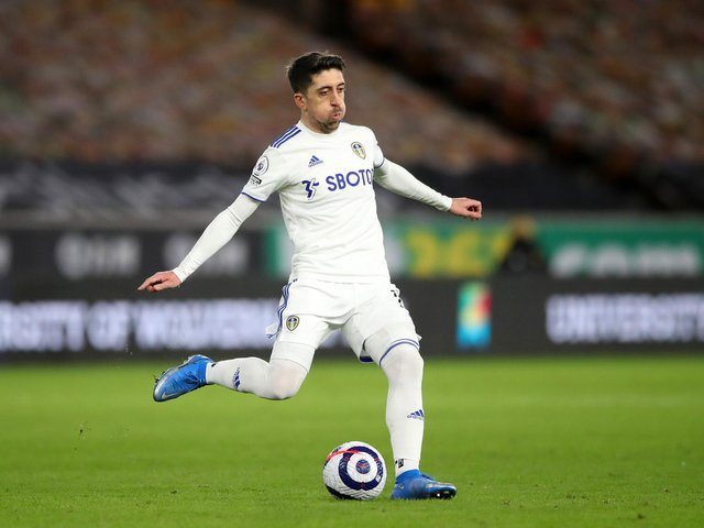 MAGIC MAN - When Pablo Hernandez puffed out his cheeks, something good usually happened for Leeds United. Pic: Getty