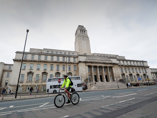The Parkinson Building at the University of Leeds.