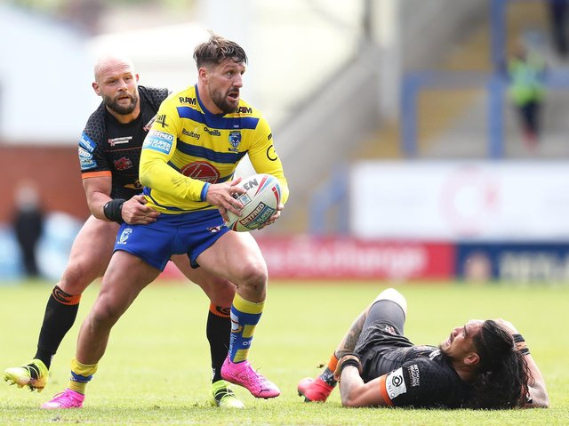 DEFEAT: Warrington Wolves 38-14 Castleford Tigers. Picture: Getty Images.
