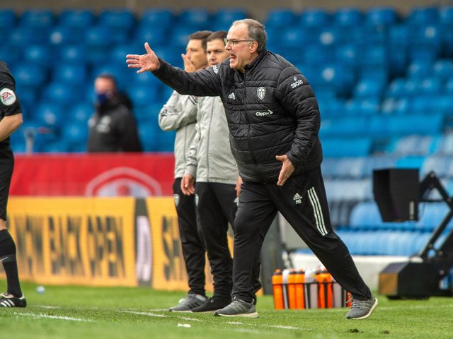 WINNING FINISH - Marcelo Bielsa's Leeds United finished ninth in the Premier League thanks to their 3-1 win over West Brom in the season finale. Pic: Bruce Rollinson