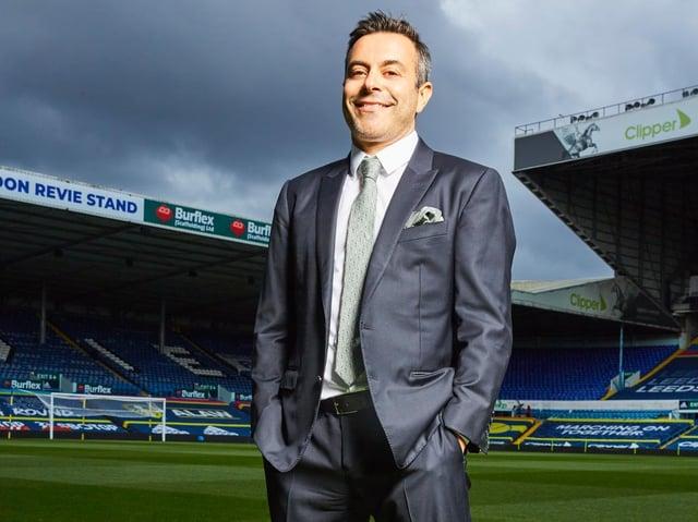 Leeds United owner Andrea Radrizzani.