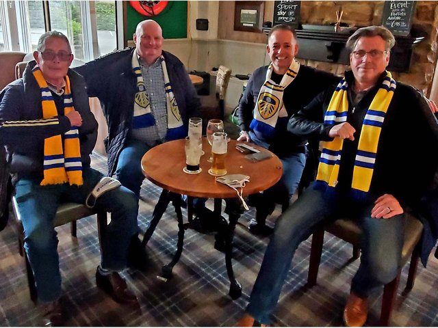 Andrew Pinder, 53, who lives in the USA, set off on a plane from Kansas 10 days ago after bagging a ticket for the final game against West Brom today.