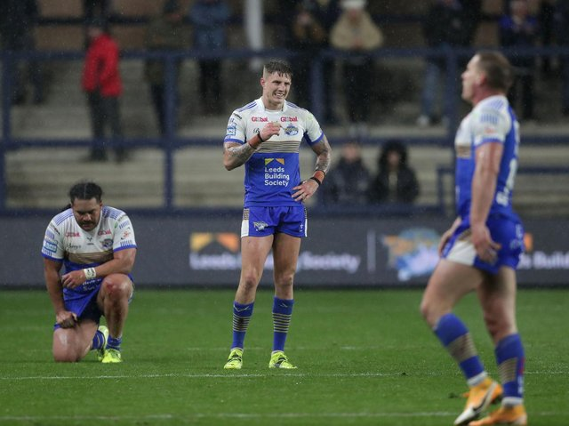 Defeat to Hull left Rhinos deflated. Picture by Richard Sellers/PA Wire.