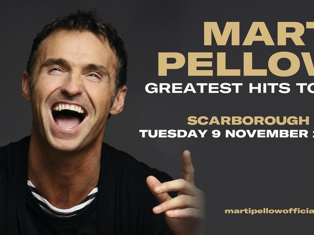 Marti Pellow will play Scarborough Spa later this year