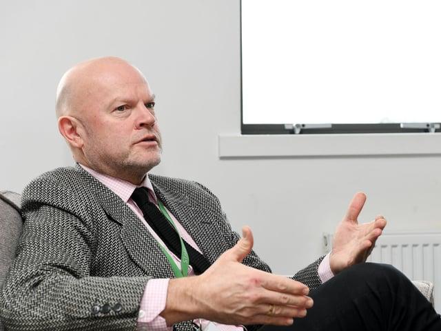 Sir John Townsley, chief executive of the GORSE Academies Trust.